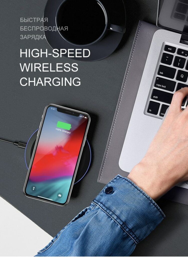 Wireless Chargers AliExpress ESVNE 5W Qi Wireless Charger for iPhone X Xs MAX XR 8 plus Fast Charging