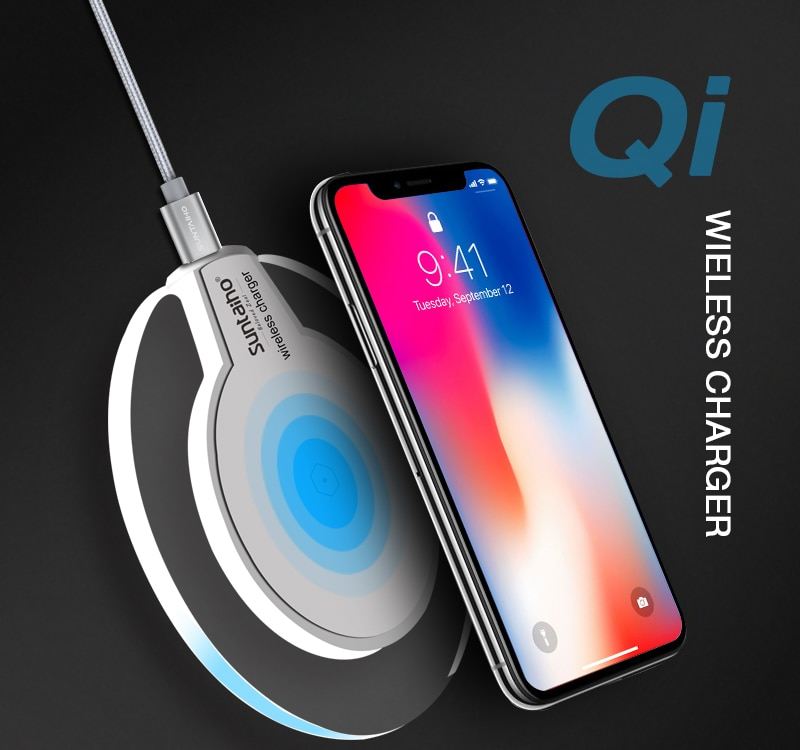 Wireless Chargers AliExpress Qi Wireless Charger 5W/10W Suntaiho phone charger wireless Fast Charging