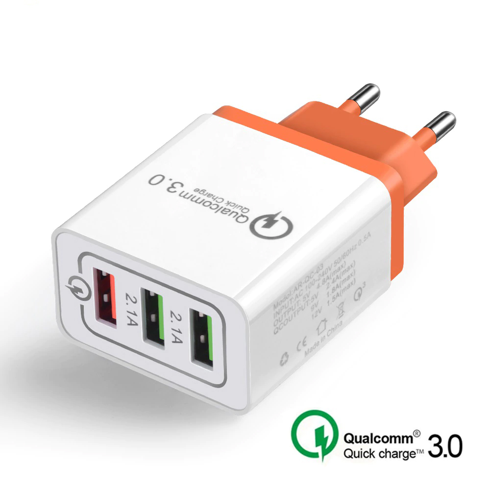 Universal 18 W USB Quick charge 3.0 5V 3A for Iphone