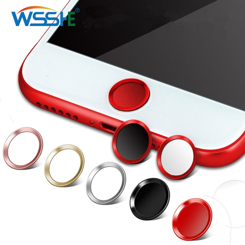 Phone Sticker & Back Flim For iphone 6 6s home button sticker Support Touch ID Home Button Sticker