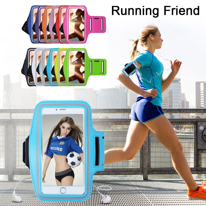 Mobile Phone Armbands Universal Outdoor Sports Phone Holder Armband Case for Xiaomi Mi 9 Gym Running Phone Bag Arm Band Case for Huawei P20 Lite Hand