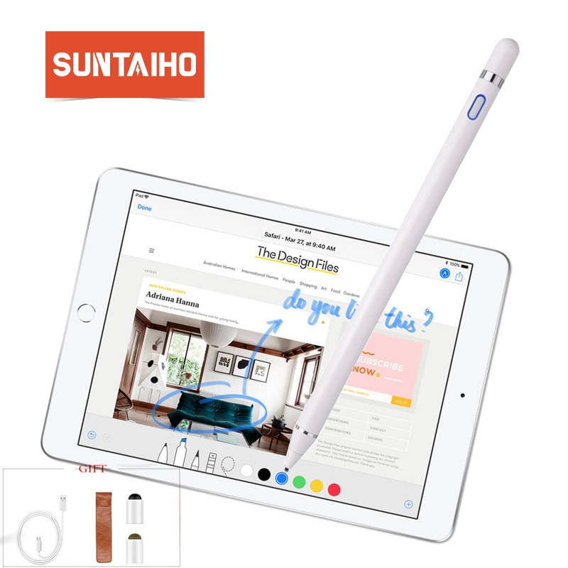 New Stylus Touch Screen Pen For IPhone Ipad For Samsung Huawei Xiaomi OPPO Vivo Smart Phone Note Touch Screen Pen