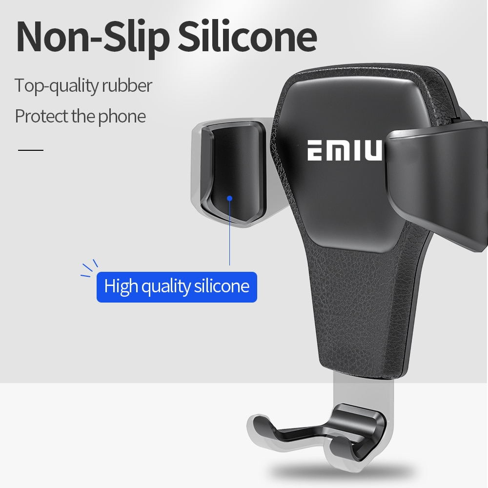 Mobile Phone Holders & Stands Car Phone Holder For Phone In Car Air Vent Mount Stand No Magnetic Mobile Phone Holder