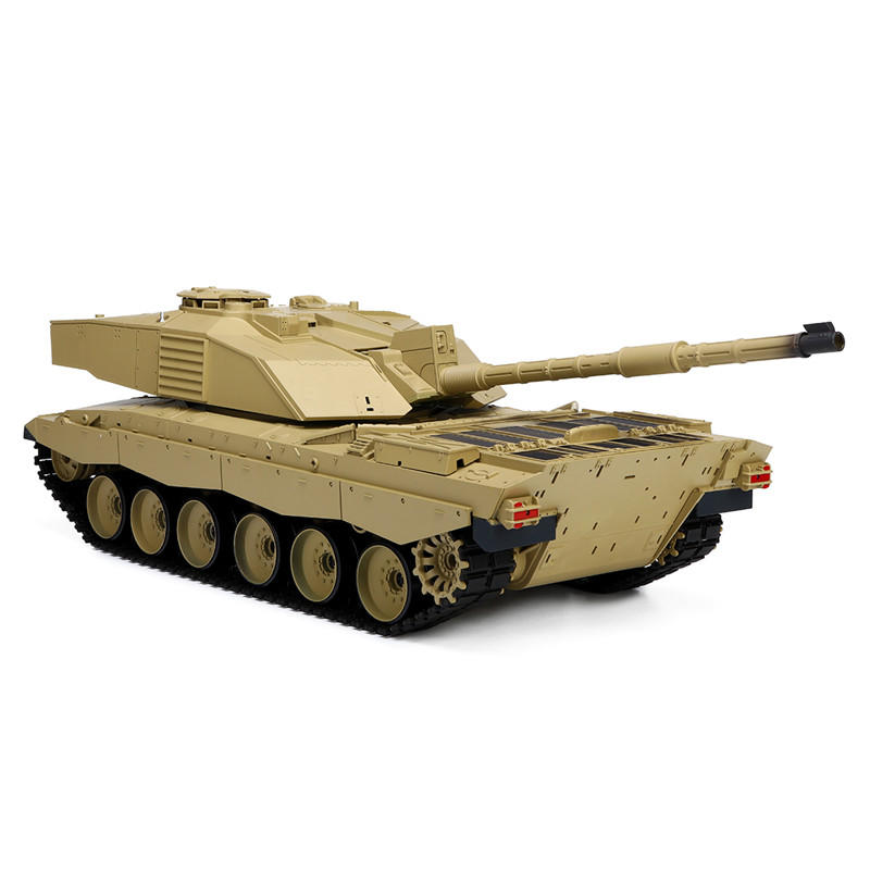 Heng Long 3908-1 1/16 2.4G Smoking British Challenger 2II RC Car Battle Tank Plastic Model Toys