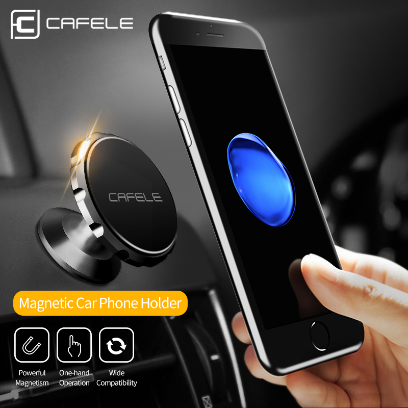 CAFELE 3 Style Magnetic Car Phone Holder Stand For Phone in Car Air Vent