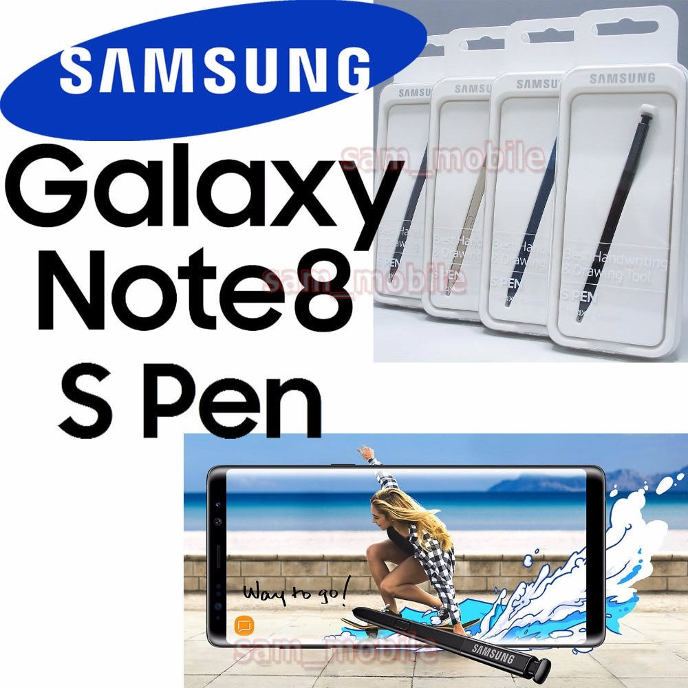 100% original official samsung Touch pen Stylus S Pen Forsamsung Galaxy Note 8 SM-N950 N950P N950A N950V EJ-PN950
