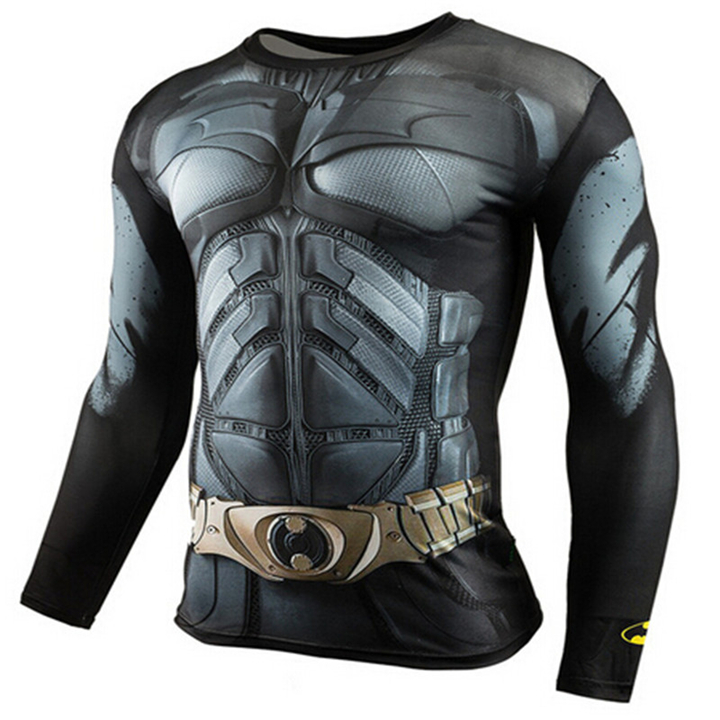 Men's T Shirts AliExpress Hot Sale Fitness MMA Compression