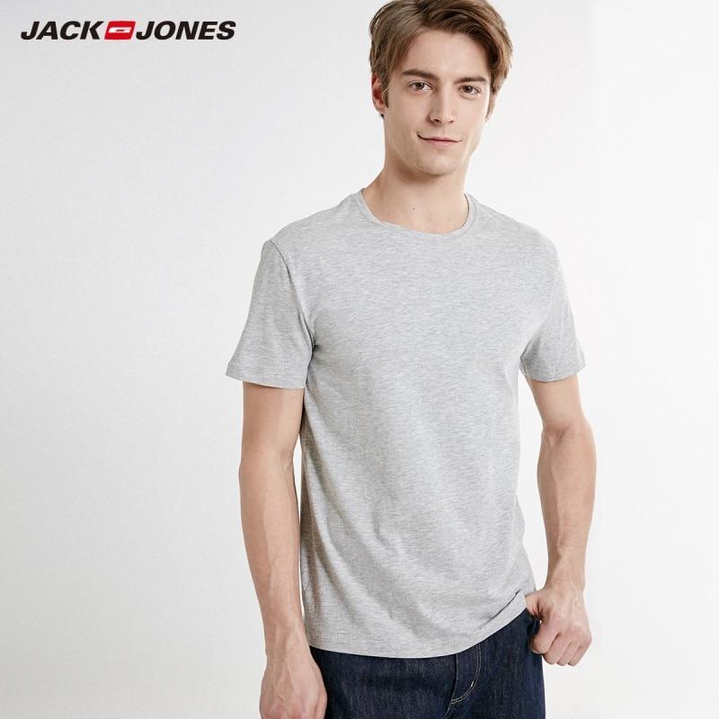 Men's T Shirts AliExpress JackJones  Cotton