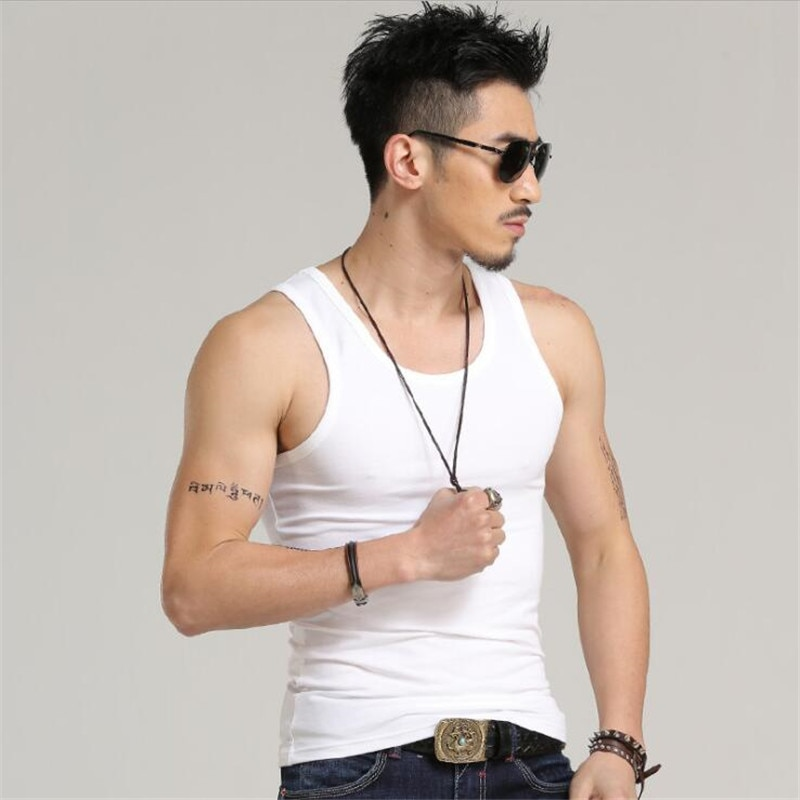 Cncool Casual Gilet Men O-Neck  Summer Male Bodybuilding