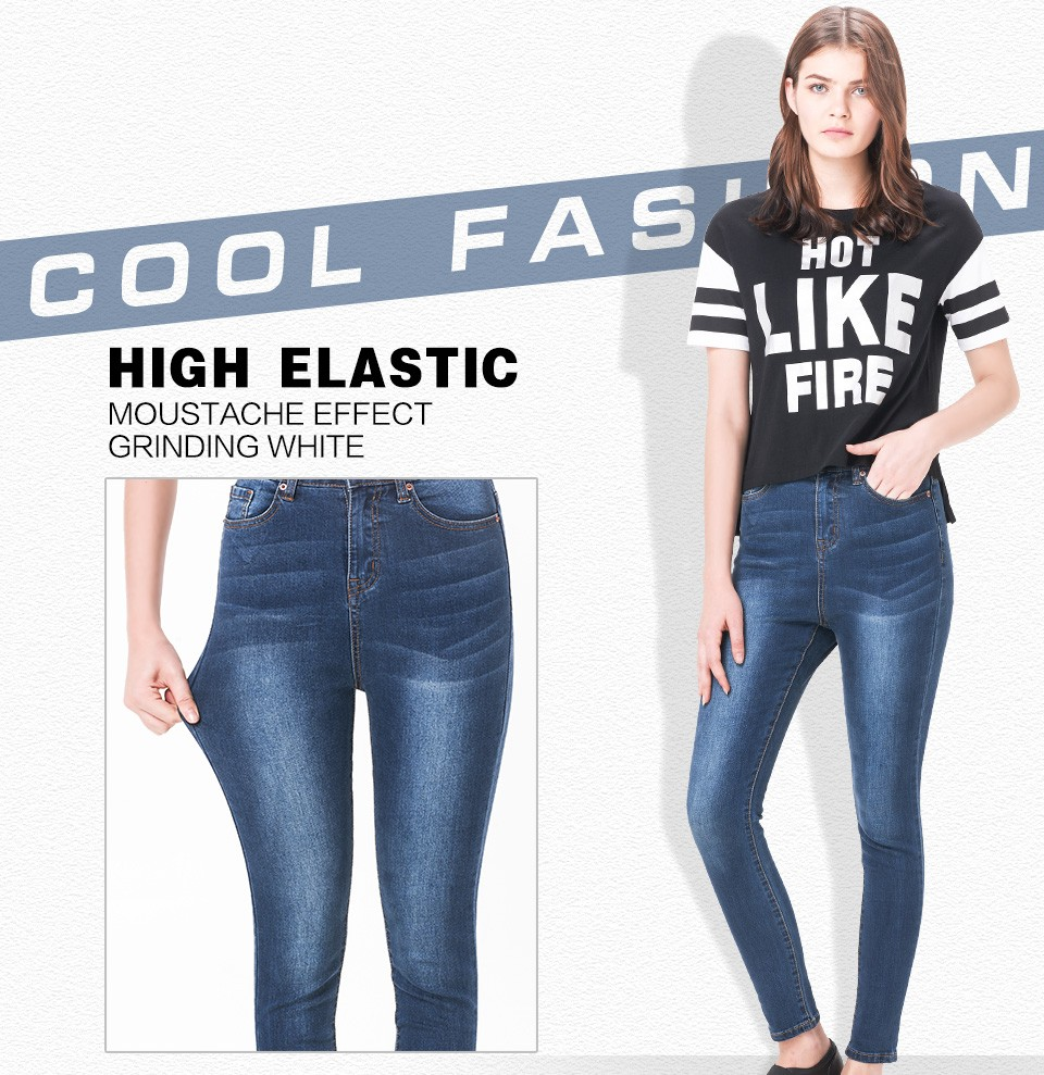 Jeans for Women mom Jeans High Waist Jeans Woman