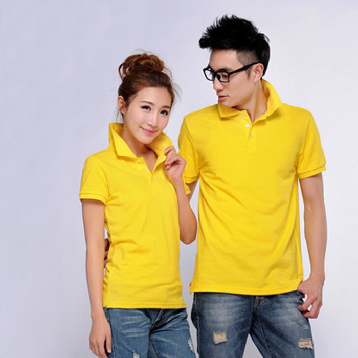 JINGDI Shirt Polo Women Cotton Short Sleeve