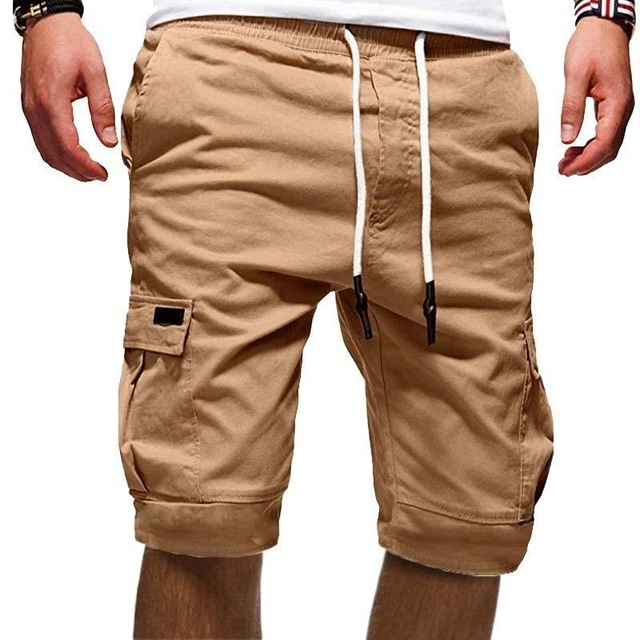 Cotton Shorts Men Brand Casual Summer Plus Size Men Short Knee