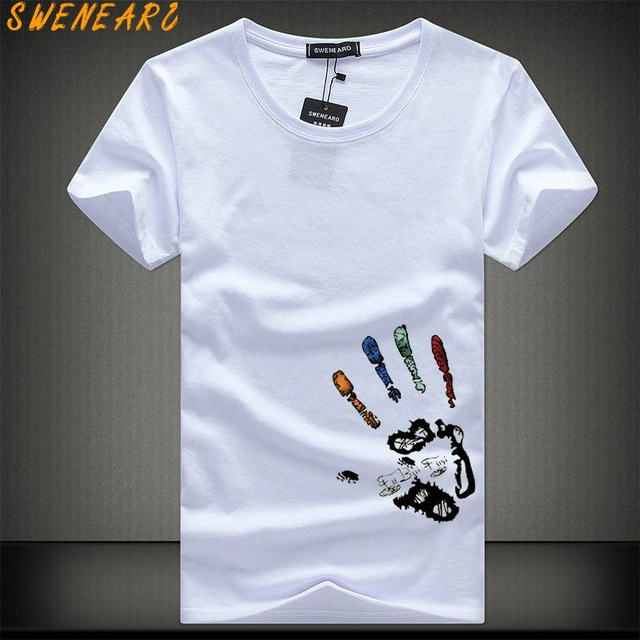 Men's T Shirts AliExpress Homme Summer Short Sleeve