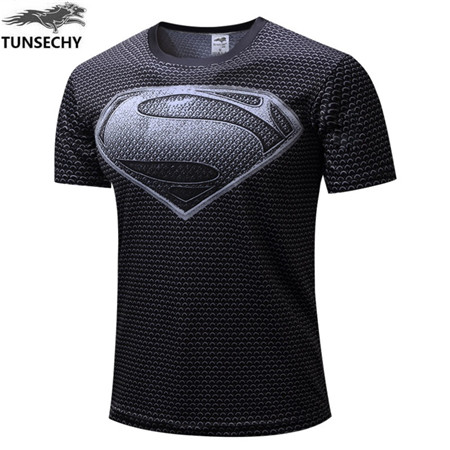 Men's T Shirts AliExpress TUNSECHY 2017 Captain America  3D Printed  Men Marvel Avengers iron man