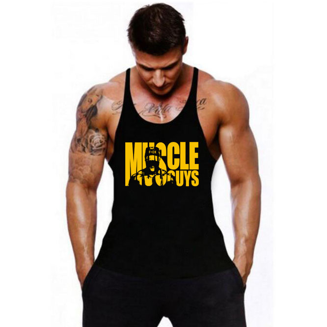 Men's Tank Tops Sleeveless Tanktops For Boys Bodybuilding Clothing