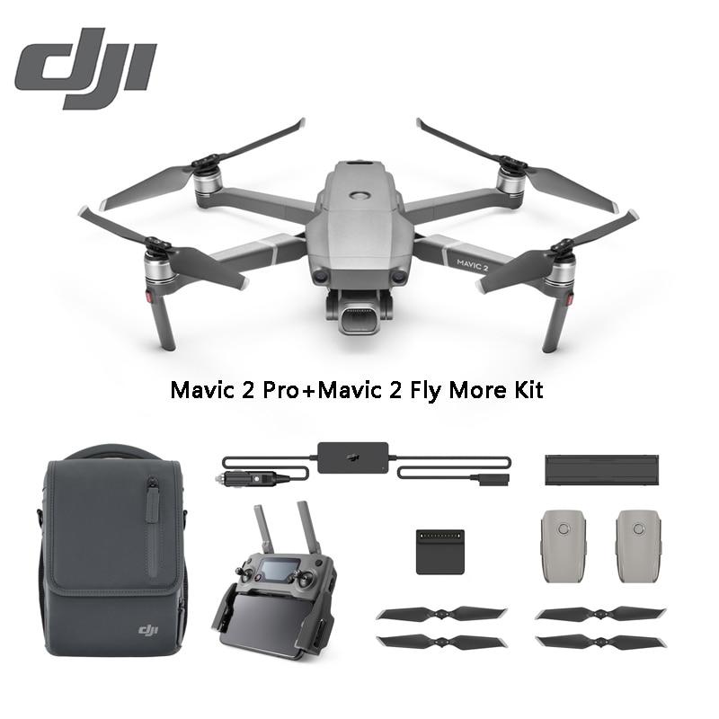 DJI Mavic 2 Pro / Zoom 8KM 1080P FPV w/ 3-Axis Gimbal 4K Camera Omnidirectional Obstacle RC Drone - Mavic 2 Pro