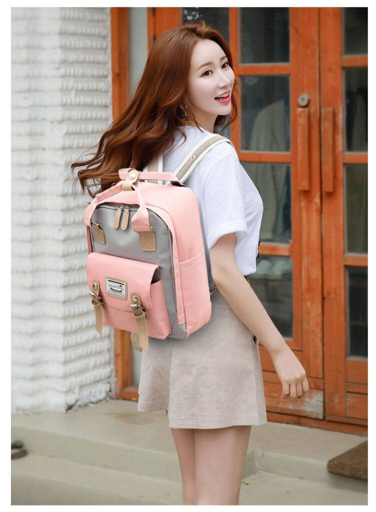 Multifunction women backpack girls shoulder bag High quality