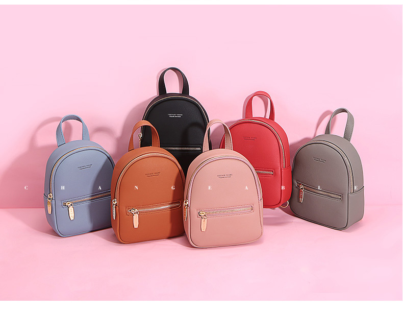 WEICHEN New Designer Fashion Women Backpack Mini