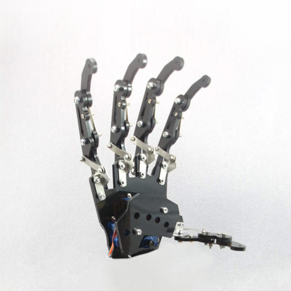 DIY 5DOF Robot Arm Five Fingers Metal Mechanical Paw Left and Right Hand - Right hand