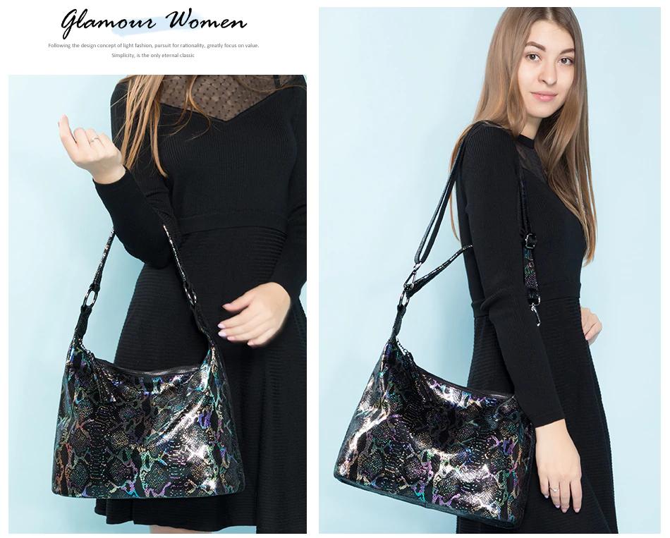 2019 genuine leather luxury handbag designer large with tassel animal prints