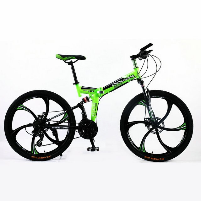Running Leopard foldable bicycmountain Bicycles